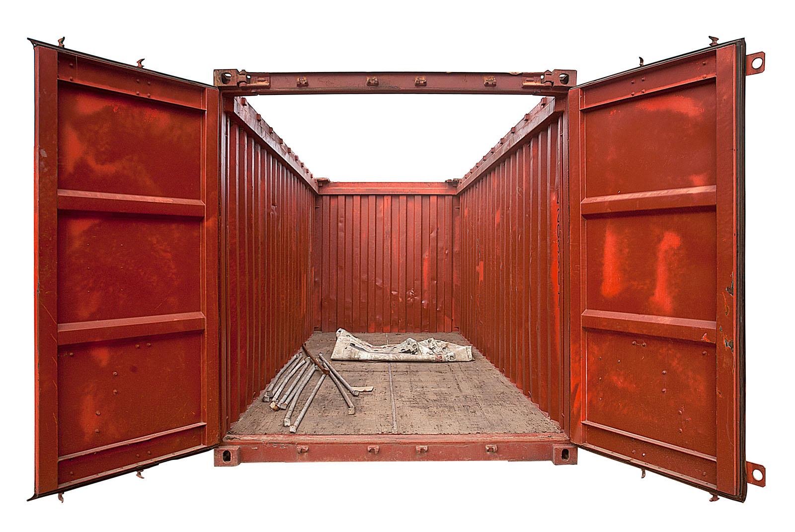 Как сделать каркас контейнера металлический